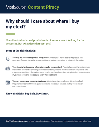 Content Piracy: Know the Risks