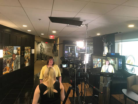 Filming at University of Missouri