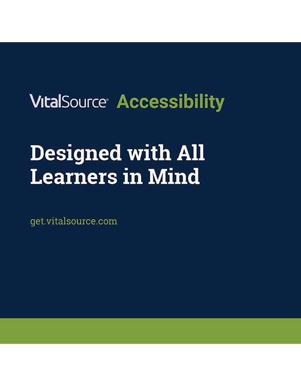 VitalSource Accessibility Brochure
