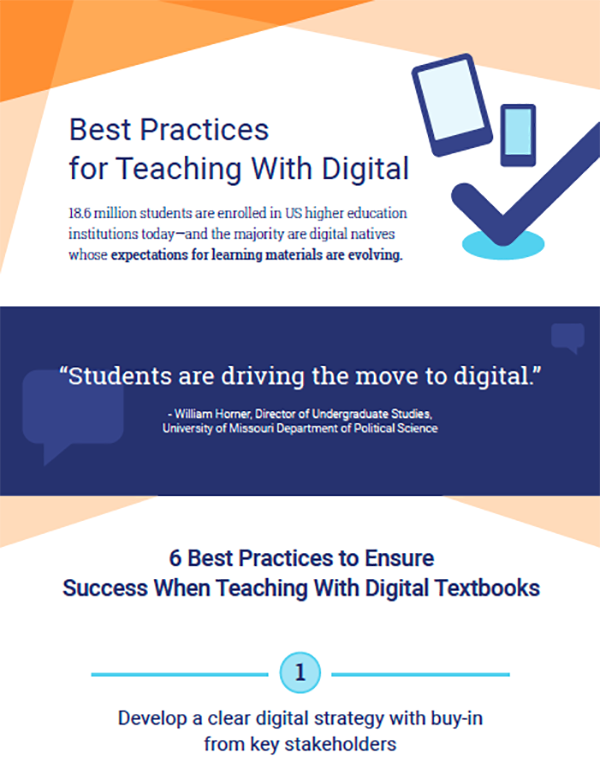 Best Practices for Teaching With Digital