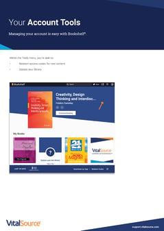 Your Bookshelf Account Tools