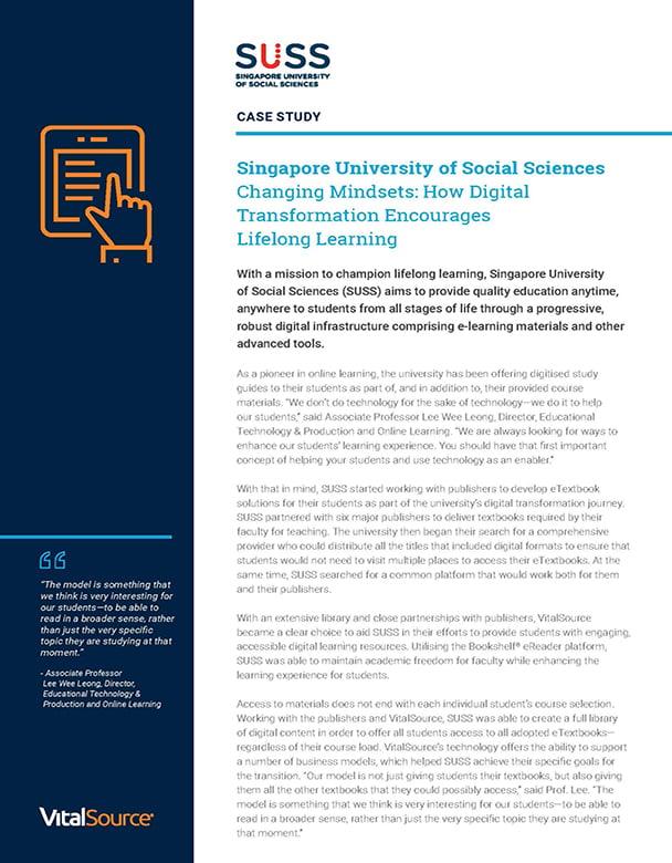 SUSS case study & infographic