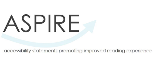 ASPIRE - accessibility statements promoting improved reading experience