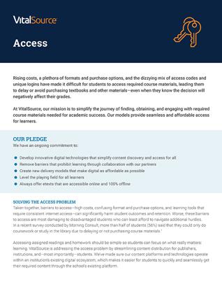 Access Position Paper