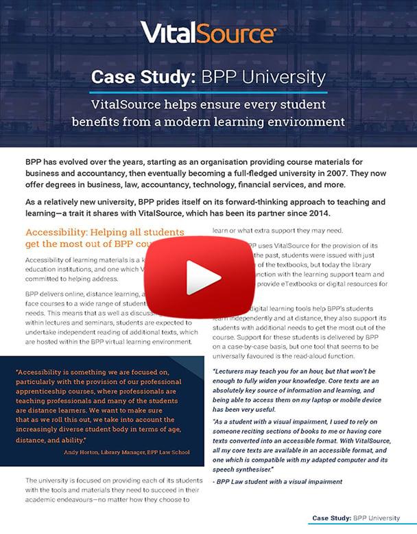 BPP University Case Study Video