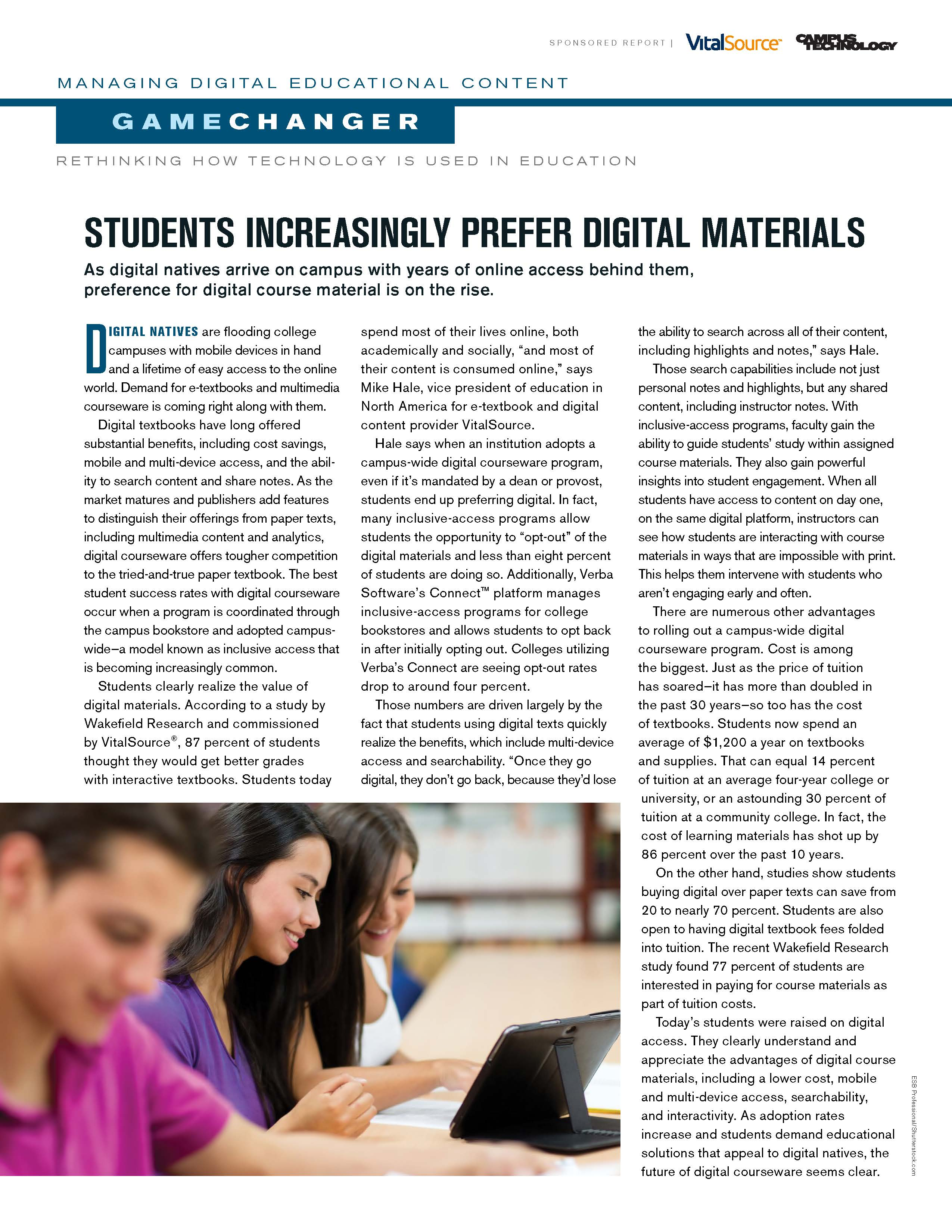 Rethinking How Technology is Used in Education Report