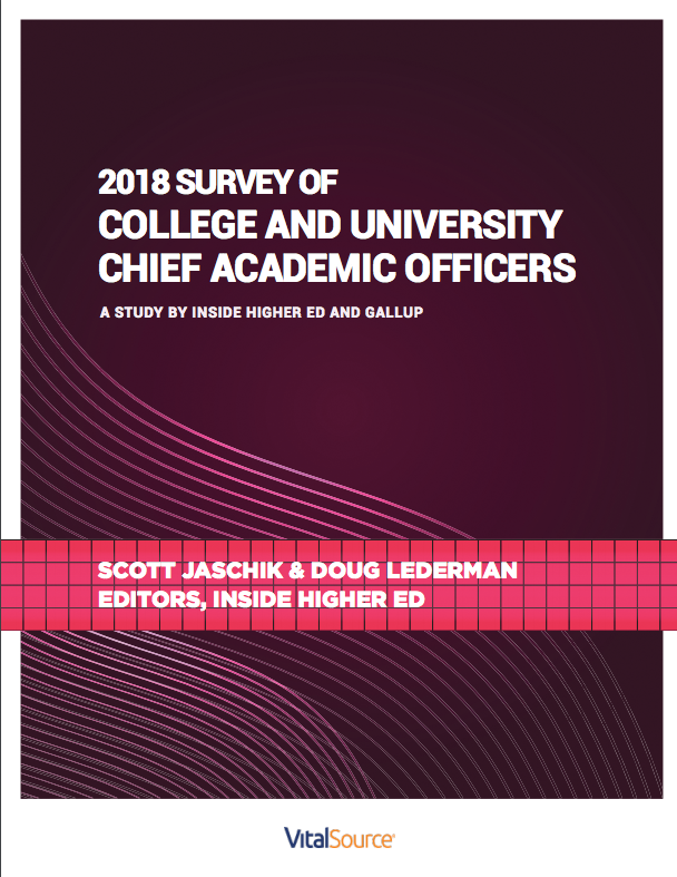 2018 Survey of College and University Chief Academic Officers