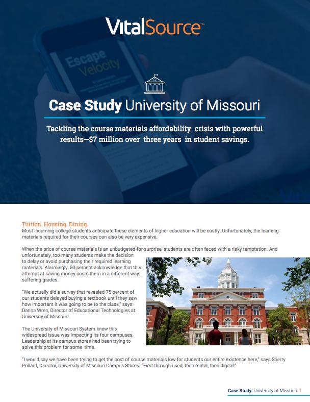 Case Study University of Missouri