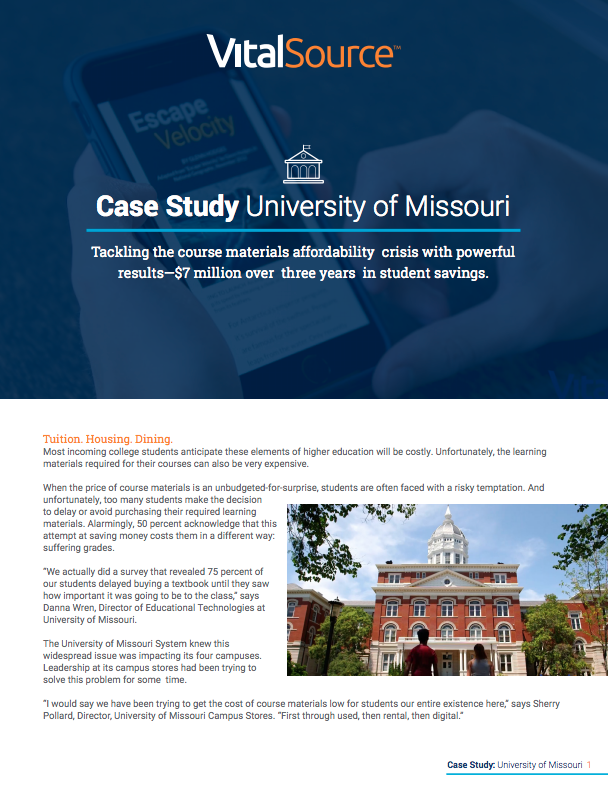 Case Study University of Missouri