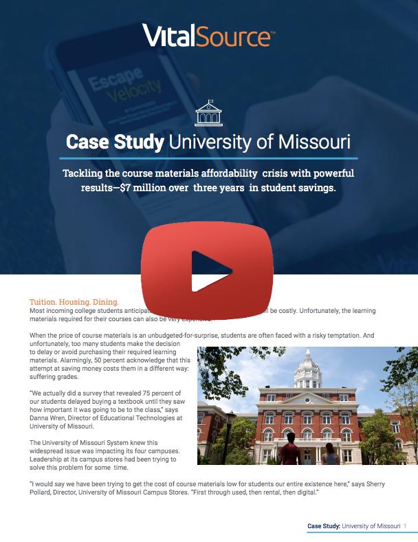 Video Case Study University of Missouri