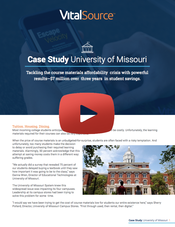 Video Case Study University of Missouri