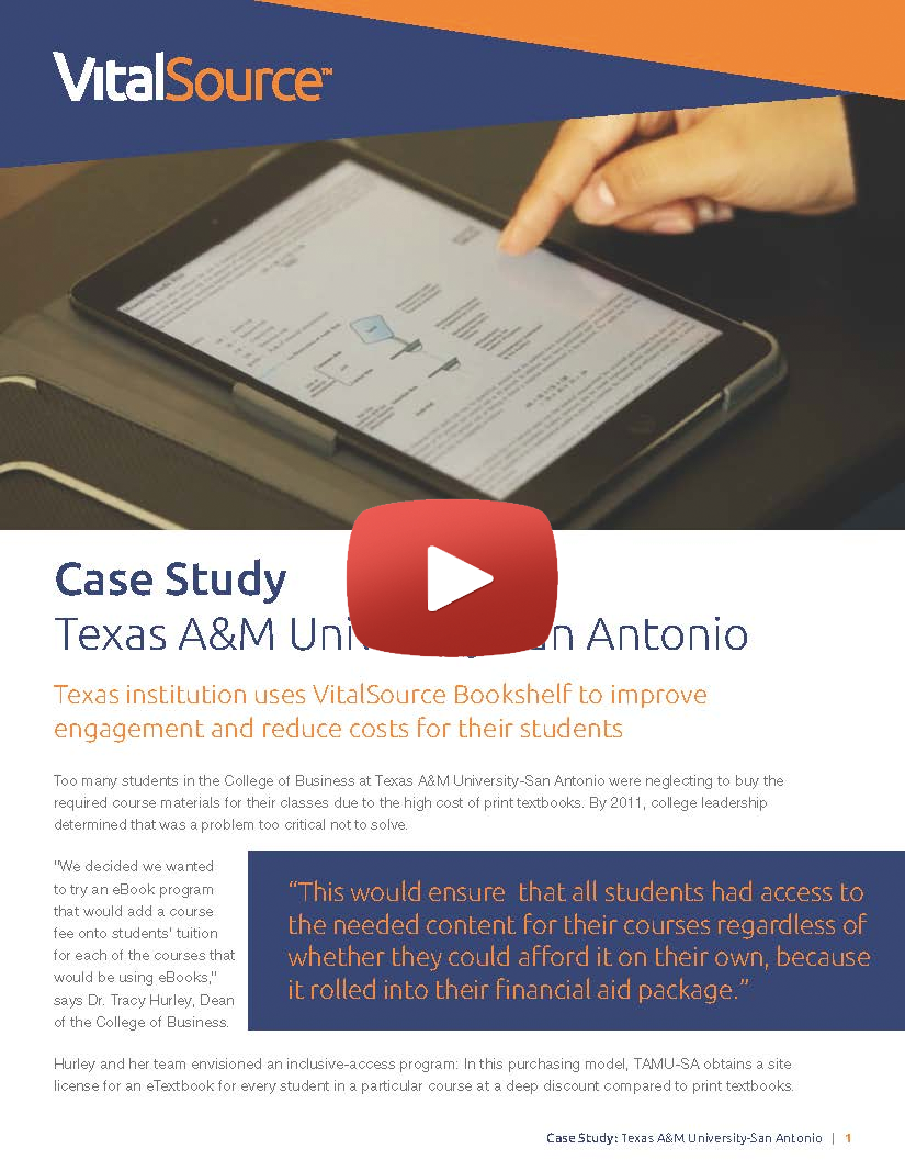 Texas A&M University-San Antonio video case study