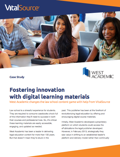 Fostering Innovation with Digital Learning Materials