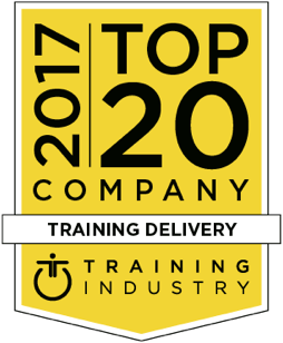 2017 Top 20 Company Training Delivery - Training Industry