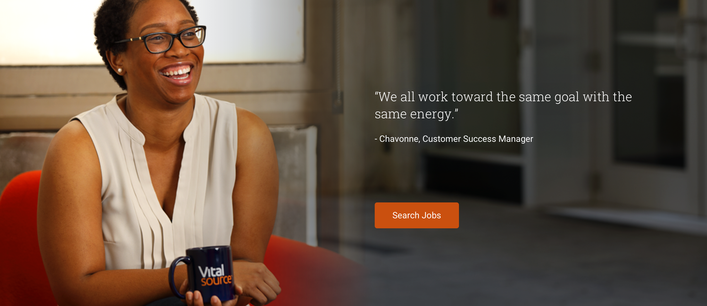 Chavonne, Customer Success Specialist VitalSource